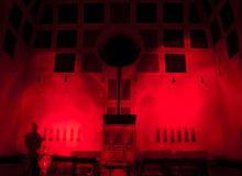 Lichtinstallation zur Orgelnacht